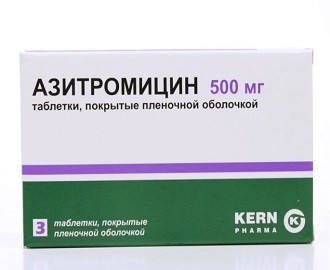 Лекарство азитромицин при уретрите