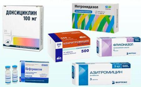 таблетки для лечения уретрита у женщин