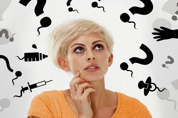 Зеленые выделения у женщин - без запаха