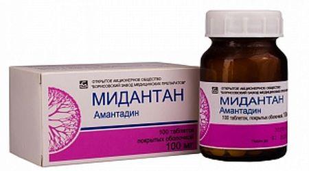 лекарство мидантан инструкция по применению