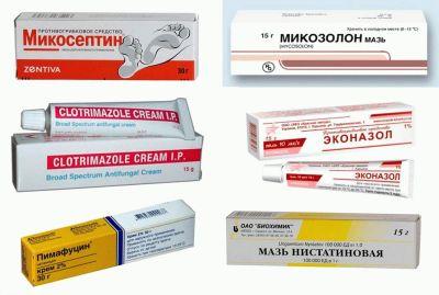 препараты местного действия против молочницы