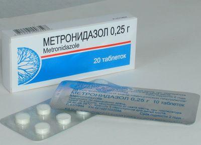 Метронидазол лечит молочницу