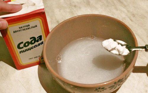 лечение молочницы у детей содой