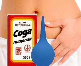 Спринцевание содой при молочнице