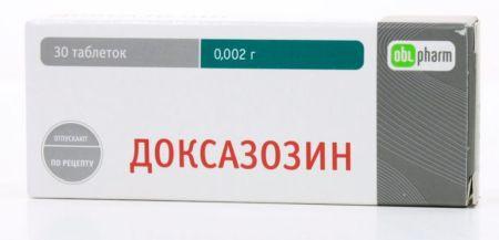 доксазозин против воспаления простаты