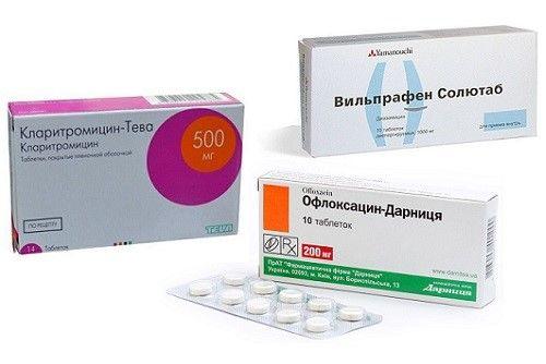 Офлоксацин при хламидиозе